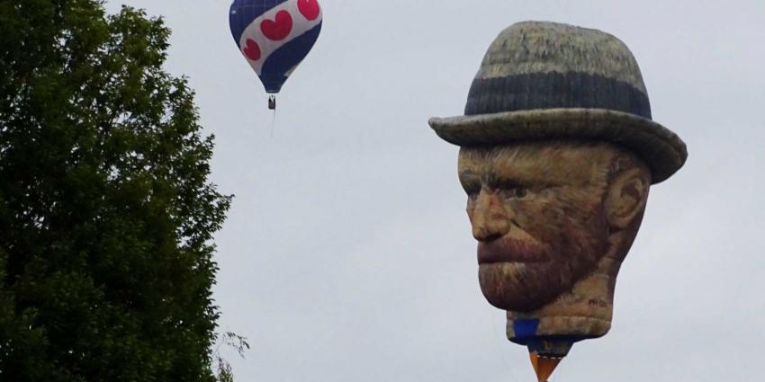 Van Gogh te zien op Friese ballonfeesten Joure