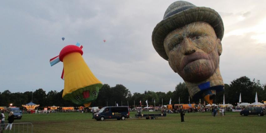 Friese ballonfeesten Joure trekt veel publiek