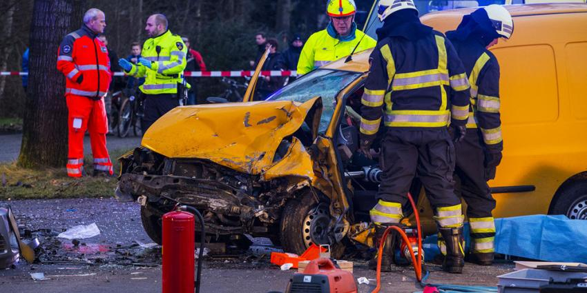 Chaos na frontale aanrijding St. Oedenrode