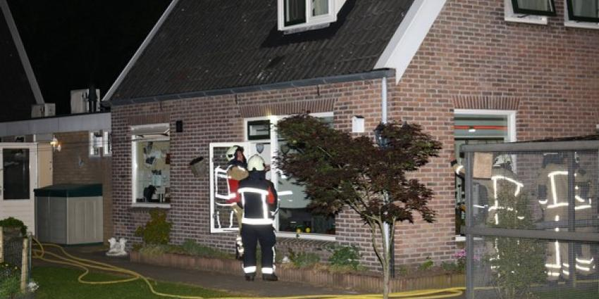 Woning in Gasselte vol rook