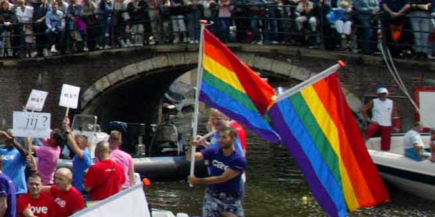 Reguliersdwarsstraat onderdeel festiviteiten Pride Amsterdam