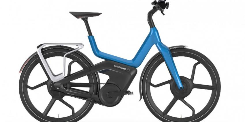 'Nieuwe Gazelle fiets gaat concurrentie aan met auto'