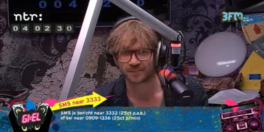 3FM-dj Giel breekt radio-optreden Mainstreet af