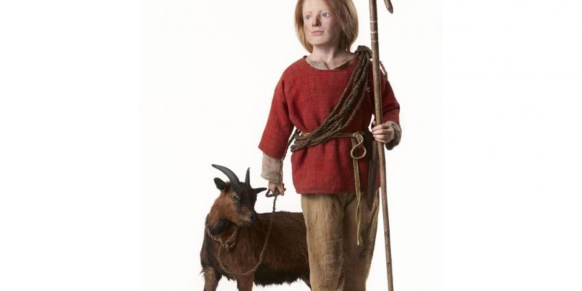 Prehistorische jongen krijgt gezicht