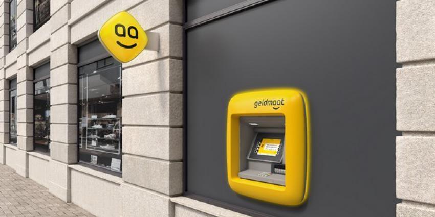 Geldautomaten worden geel en gaan geldmaat heten