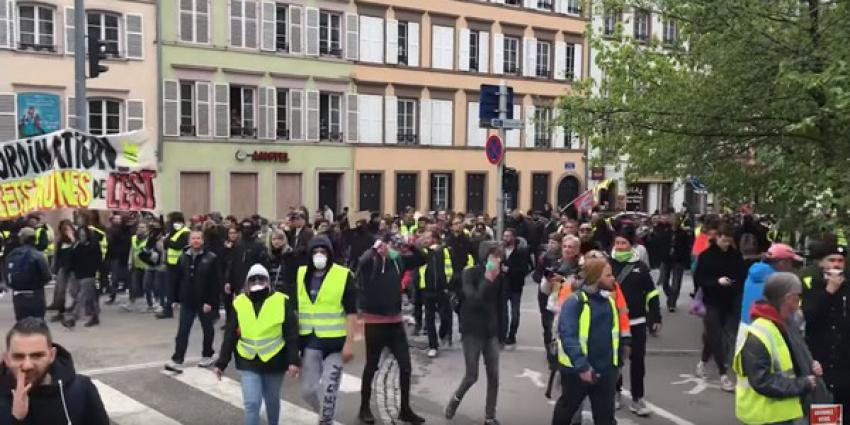 gele hesjes, demonstraties, frankrijk