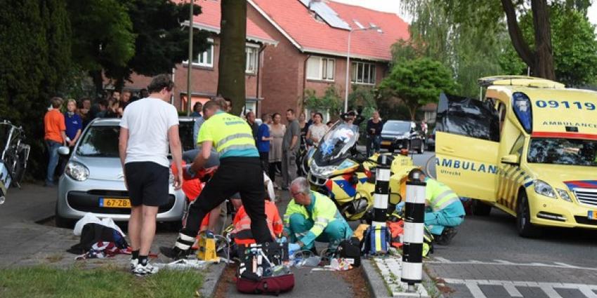 Traumaheli landt tijdens avondvierdaagse voor gevallen fietsster