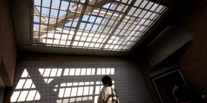 Foto van luchtplaats gevangenis | Archief EHF