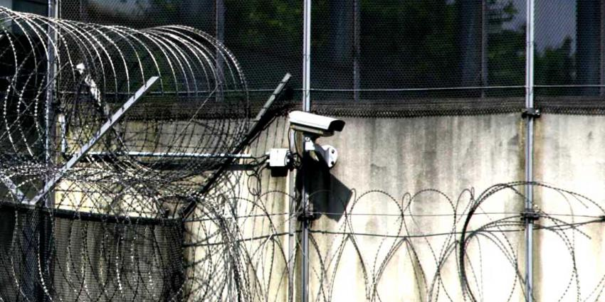 prikkeldraad, gevangenis, camera