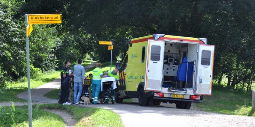 Hulpdiensten kunnen gewonde man moeilijk vinden