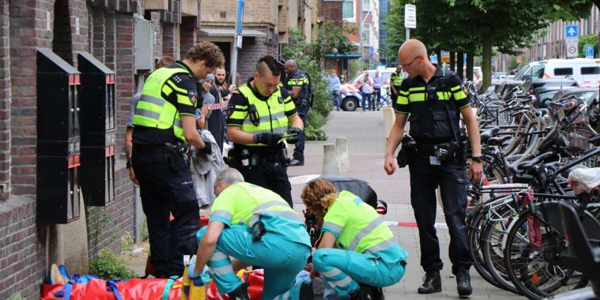 Twee zwaargewonden bij steekpartij Amsterdam