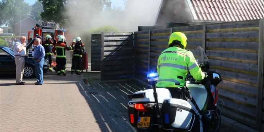Garagebrand in Gieten