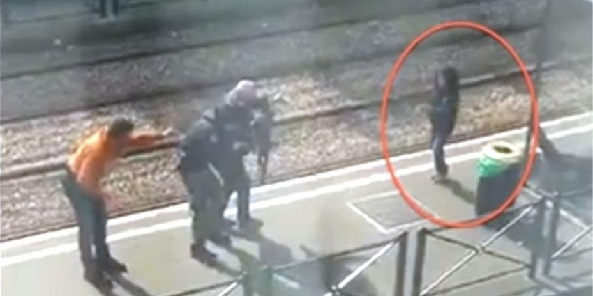 Politie in Brussel schiet man neer die vrouw en haar kind gijzelde