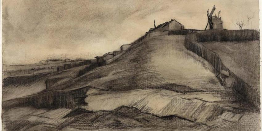 Nieuwe tekening van Vincent van Gogh ontdekt
