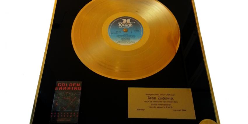 Gouden plaat Golden Earring onder de hamer