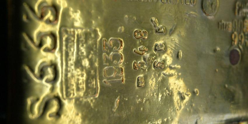 Deel goudvoorraad naar Nederland gehaald