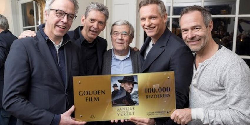 Gouden Film voor Bankier van het verzet