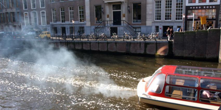 Foto van Amsterdamse gracht