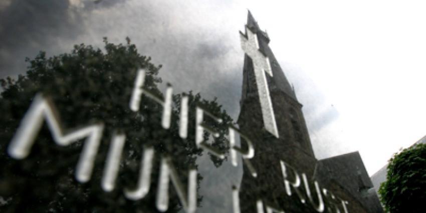 Foto van graf steen kerk | Archief EHF