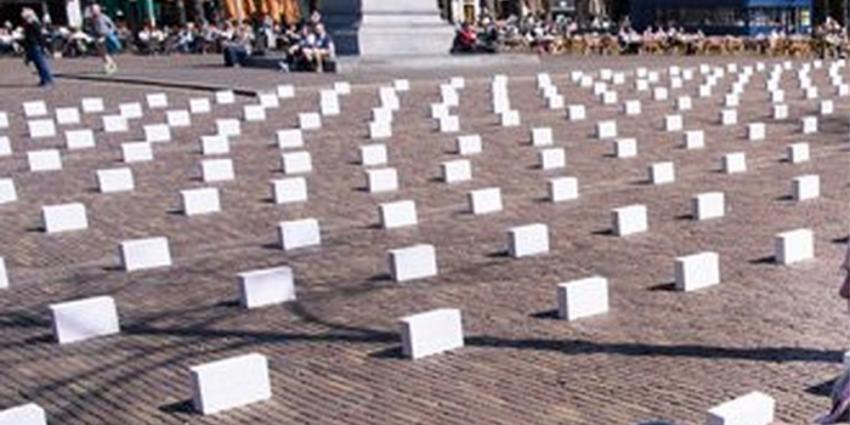 Honderden grafstenen voor Tweede Kamer voor verdronken bootvluchtelingen