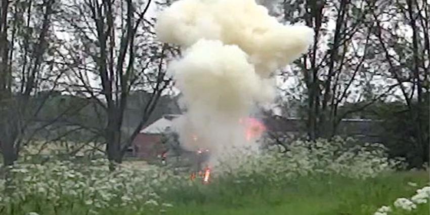 foto van granaat   Fort aan de Amstelhoek