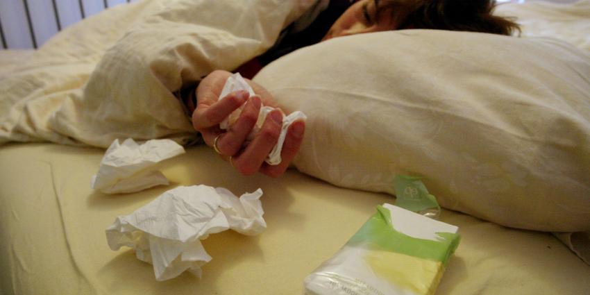 Recordstefte tijdens afgelopen griepgolf
