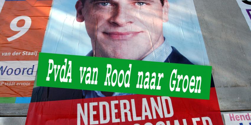 PvdA van Rood naar Groen