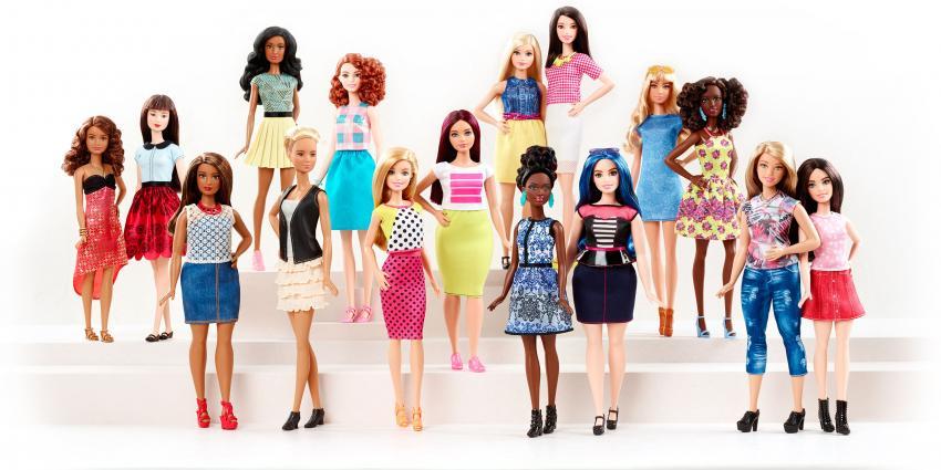 Barbie lanceert drie nieuwe lichaamsvormen