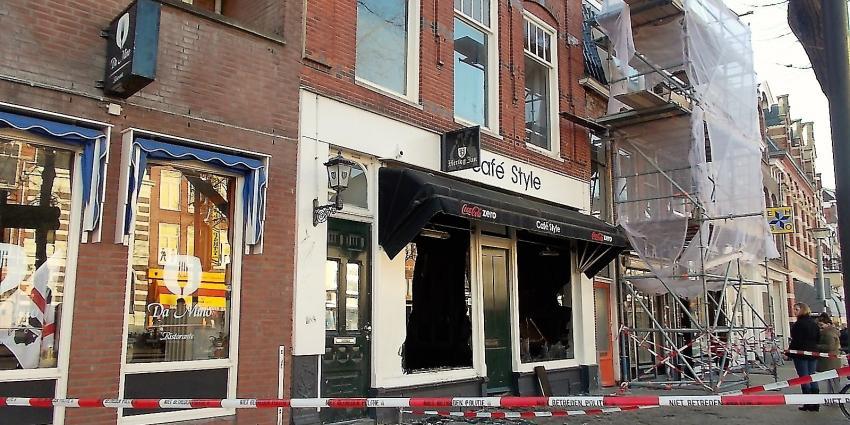 Getuigen gezocht van brand in café