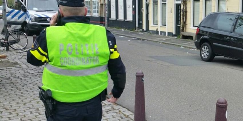 Politie houdt Groninger aan na knal