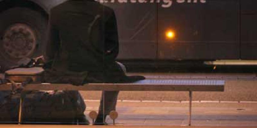 Foto van bushalte hokje Zuidtangent | Archief EHF
