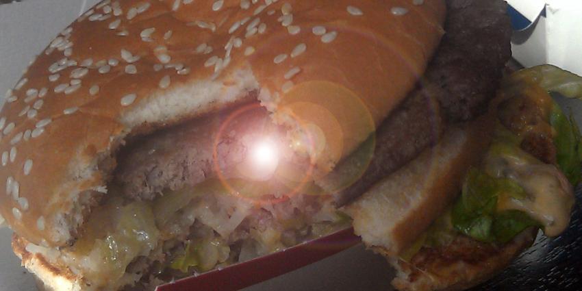 foto van broodje hamburger   fbf