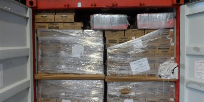 Ruim 300 kilo cocaïne onderschept in Vlissingen en Rotterdam