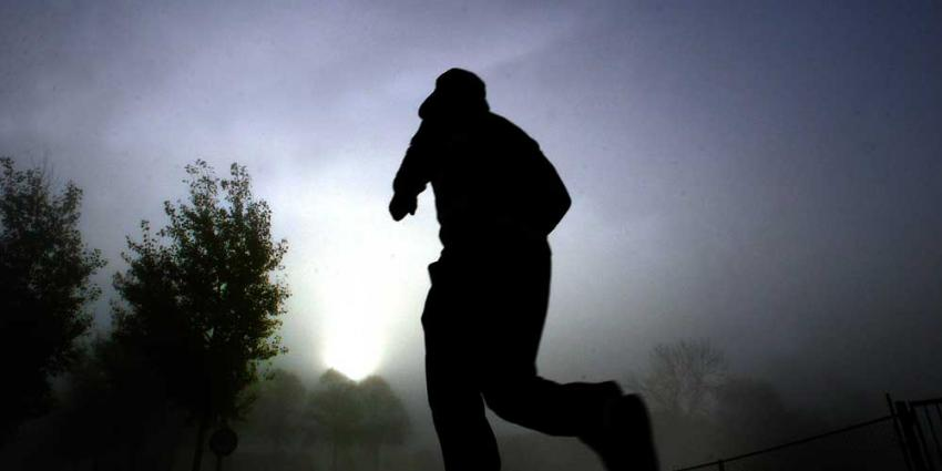 Foto van hardloper in  mist | Archief EHF