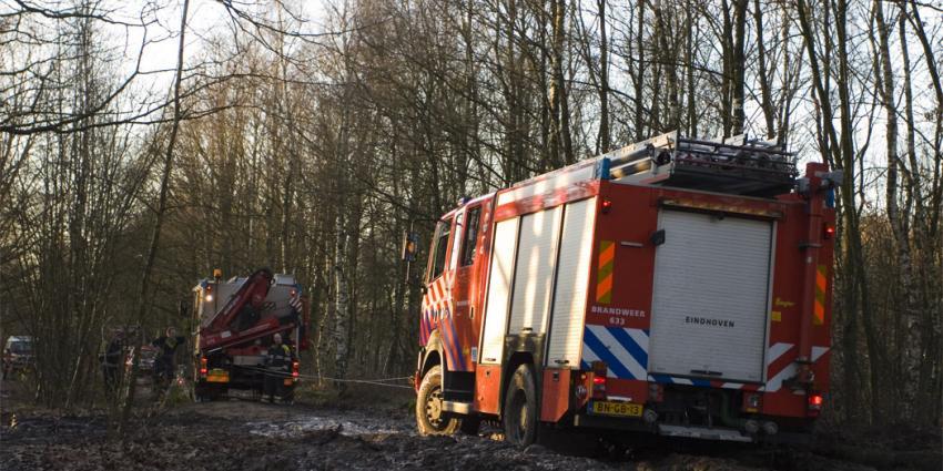 Bosbrand in Mastbos Breda