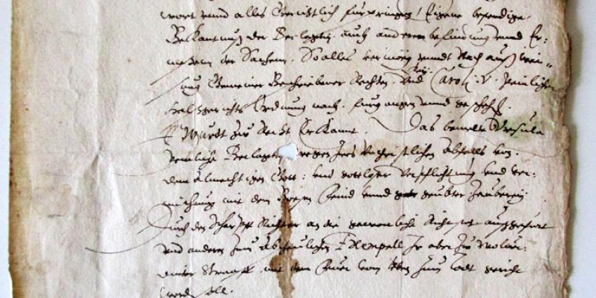 Heksenveroordeling uit 1603 brengt 3000 euro op