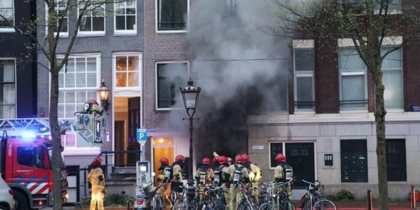 Twee grote branden in Amsterdam