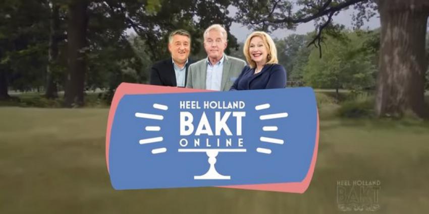 André van Duin ook volgend jaar presentator van Heel Holland Bakt