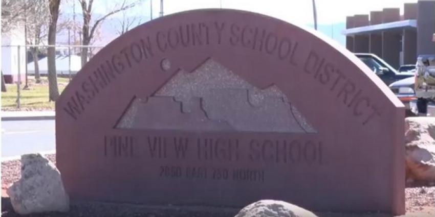 Amerikaanse scholier legt bom verstopt in rugzak neer achter frisdrankenautomaat