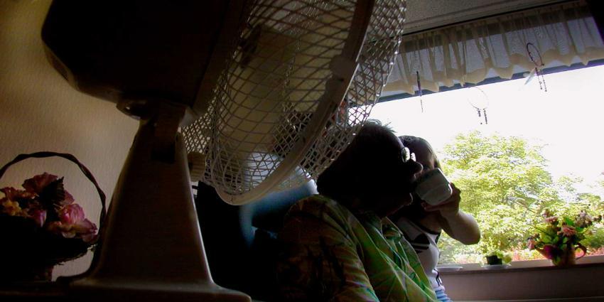 Foto van bejaarde verpleeghuis zorg | Archief EHF