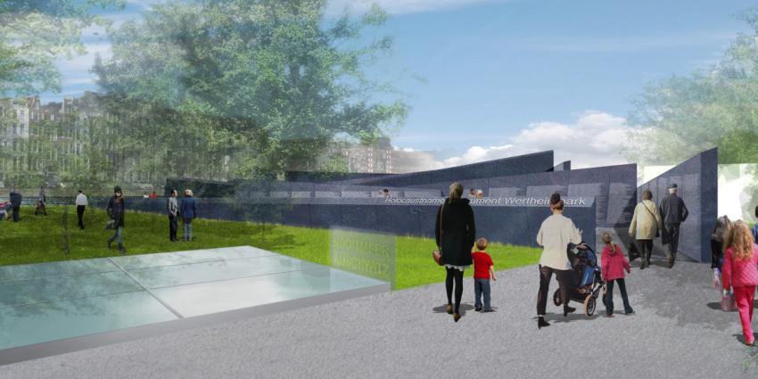 Financiële bijdrage kabinet voor Nationale Holocaust Museum en Namenmonument