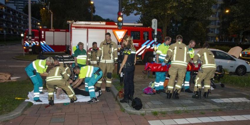 Vijf gewonden na flinke aanrijding