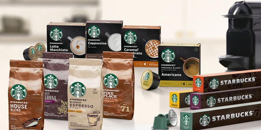 Nestlé brengt Starbucks-koffie voor thuis