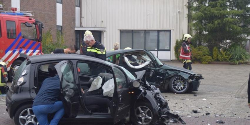 Vier gewonden bij ongeval Hoogeveen