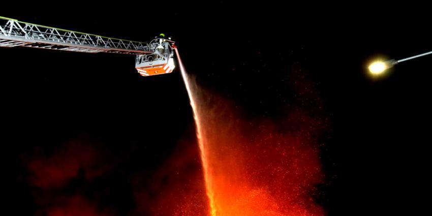 hoogwerker-brand