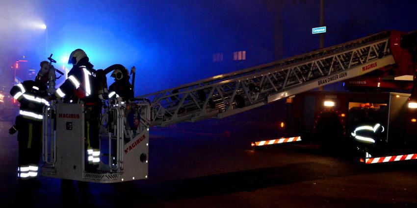 Uitslaande brand in rijtjeswoning Boxtel