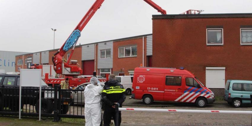 Opnieuw onderzoek in ontdekte drugslab Schiedam