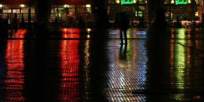 Foto van horeca plein avond | Archief EHF