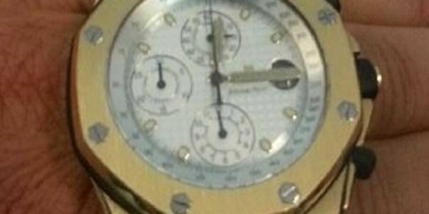 Foto van duur horloge | Politie