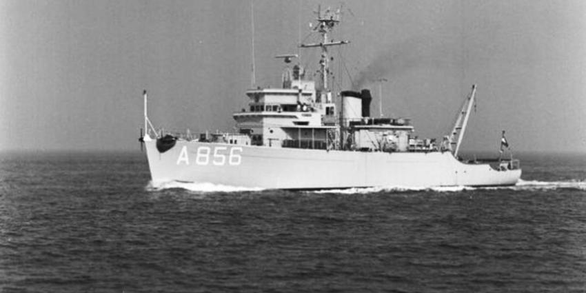 Asbest gevonden op oud-marineschepen